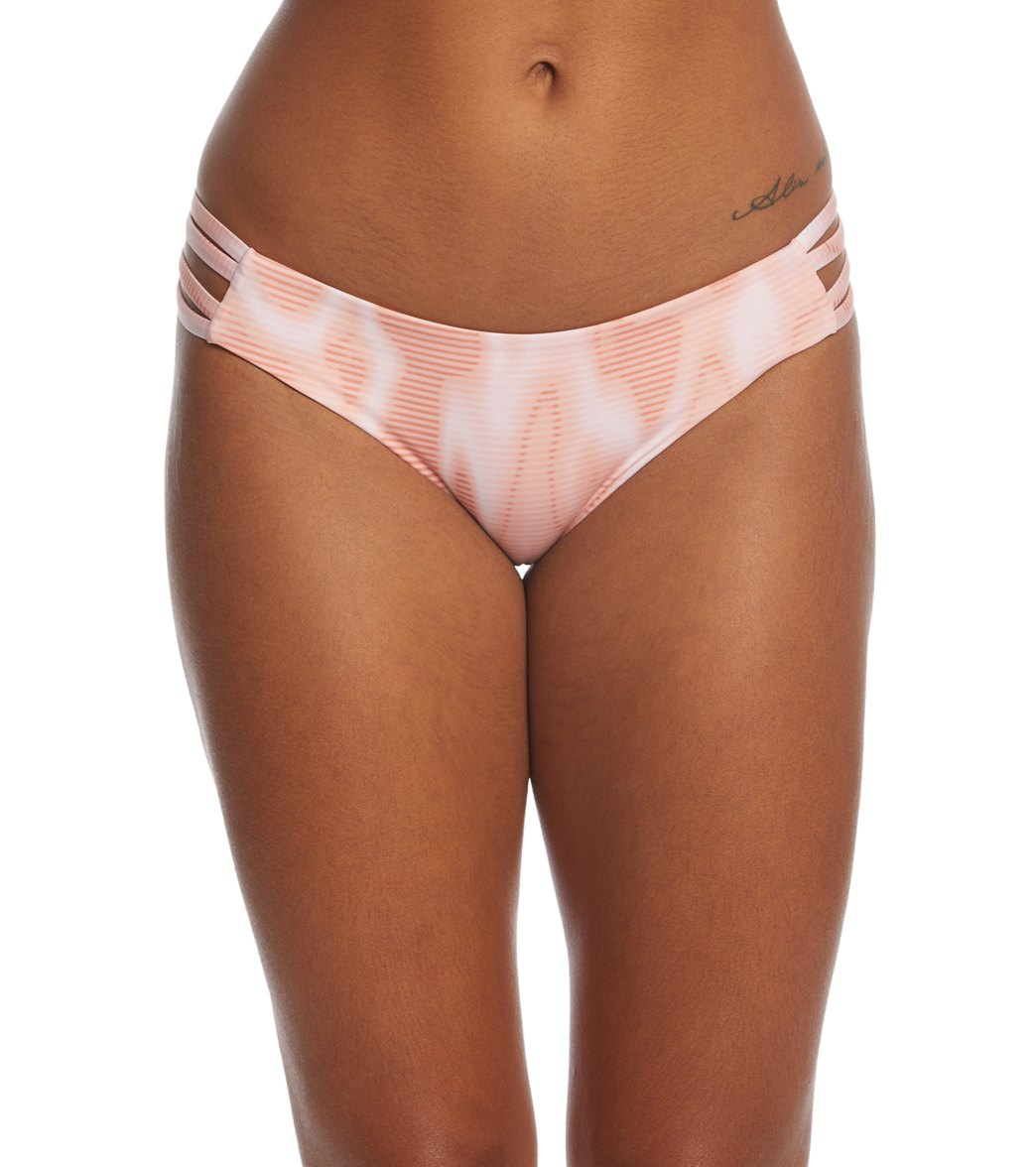 040ccdf1a35 Hurley Women's Quick Dry Max Waves Bikini Bottom at SwimOutlet.com - Free  Shipping
