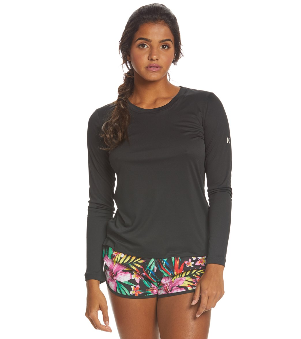 fef654686 Hurley Women's Quick Dry Long Sleeve Tee at SwimOutlet.com