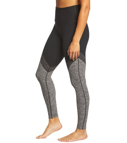 b0a57ebcf93a9 Beyond Yoga Tri-Panel Spacedye High Waisted 7/8 Yoga Leggings at  YogaOutlet.com - Free Shipping