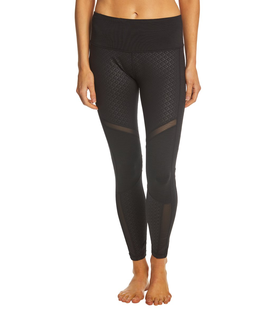 1e0a287b6a3f83 Manduka Racer Yoga Leggings at YogaOutlet.com - Free Shipping