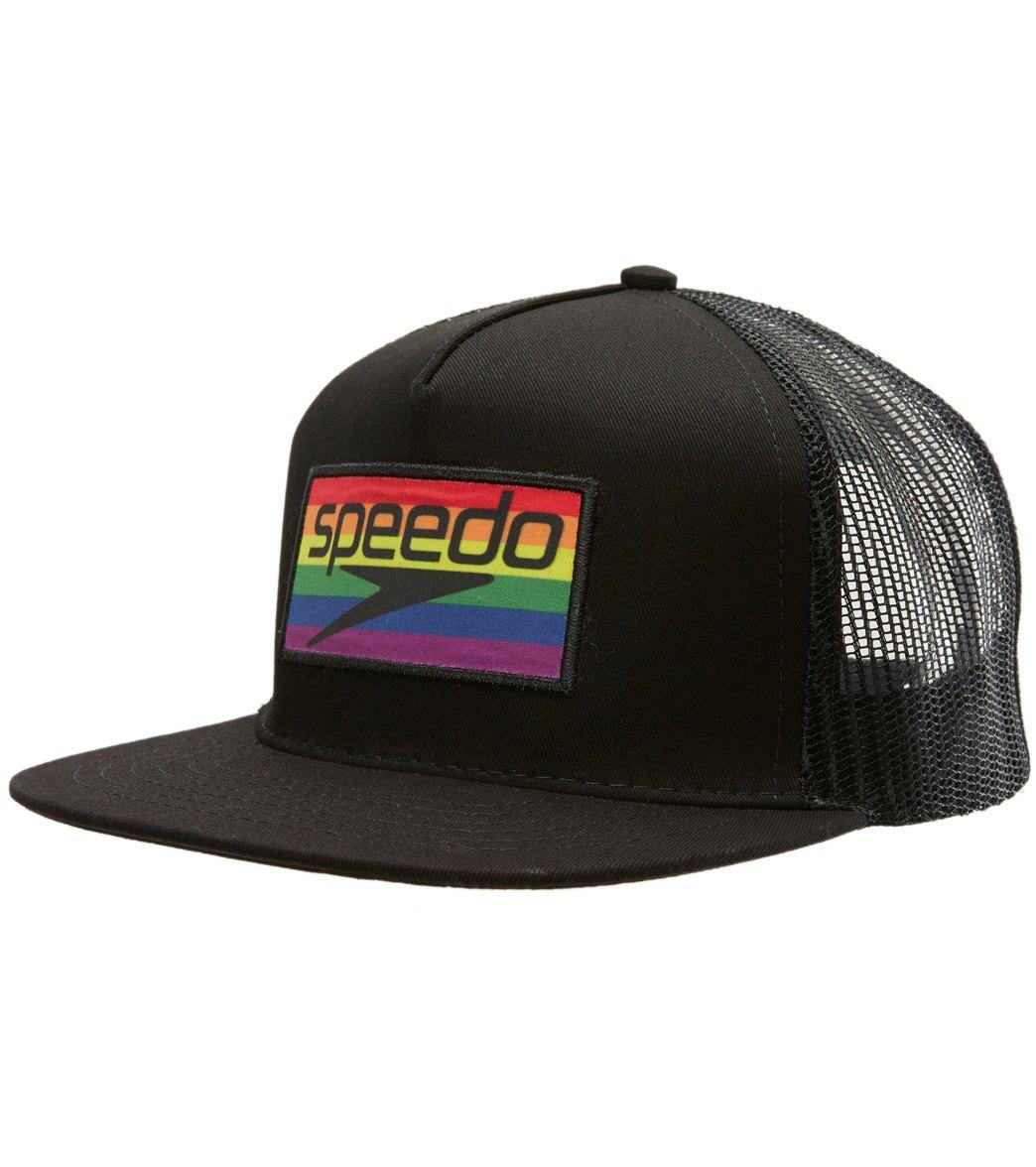 8d3f765d0b582c Speedo Pride Trucker Hat at SwimOutlet.com