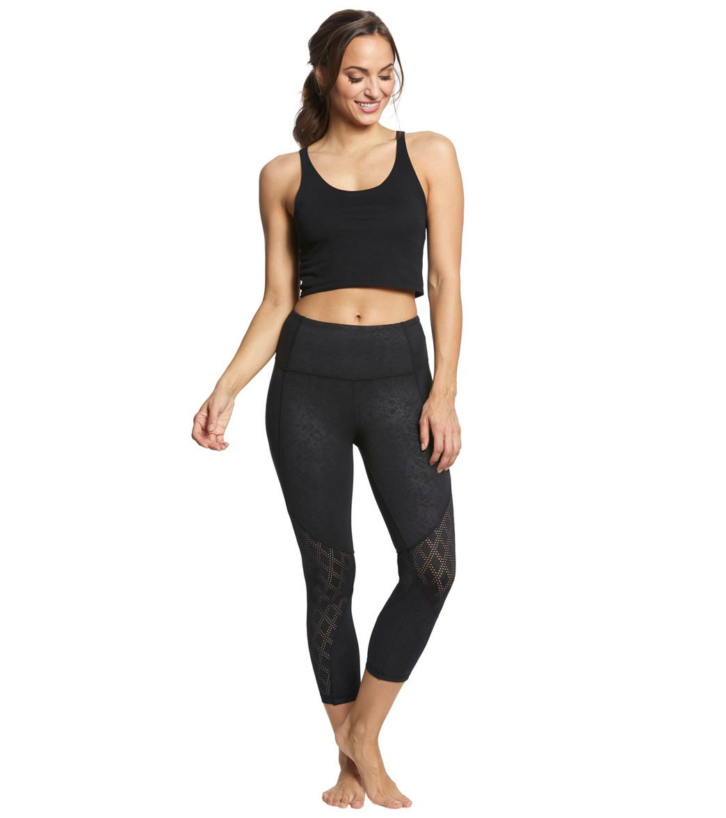 91d2958b20b4fc Balance Collection Ella Yoga Capris at YogaOutlet.com - Free Shipping