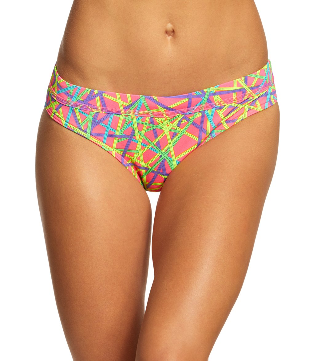 39751a48f4de0 Funkita Women's Bound Up Sports Brief Bikini Bottom at SwimOutlet.com
