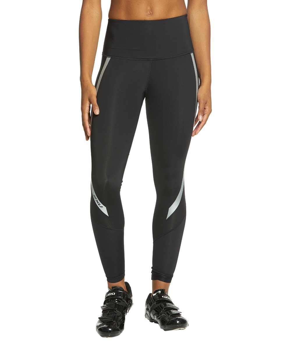 446b4a73 2XU Women's Hi-Rise Compression Tights at SwimOutlet.com - Free Shipping
