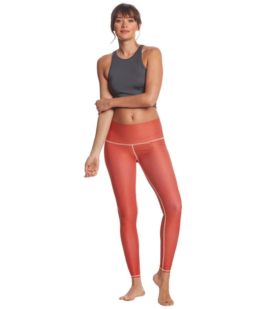 d3eaa2ea086485 Teeki Polka Dot Cowgirl Red Hot Yoga Pants at YogaOutlet.com - Free ...