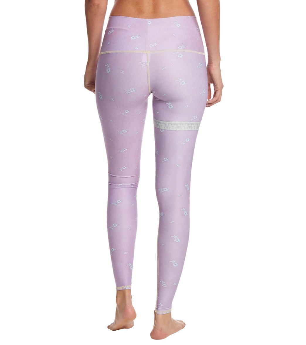 3d32525b02a646 Teeki Marry Me Purple Hot Yoga Pants at YogaOutlet.com - Free Shipping