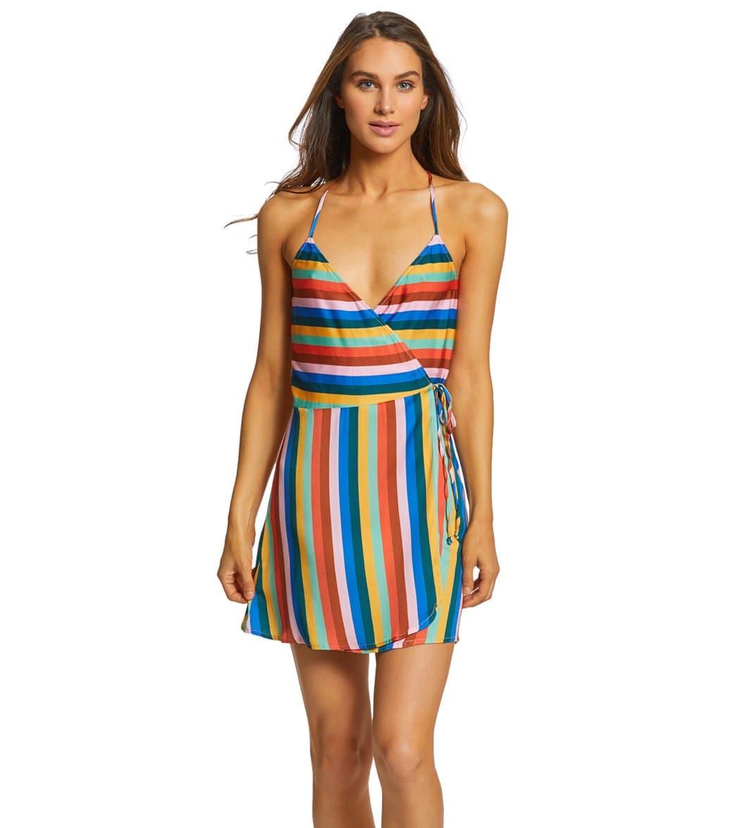 c46e38e353b25 Bikini Lab Palm Springs Wrap Dress at SwimOutlet.com - Free Shipping