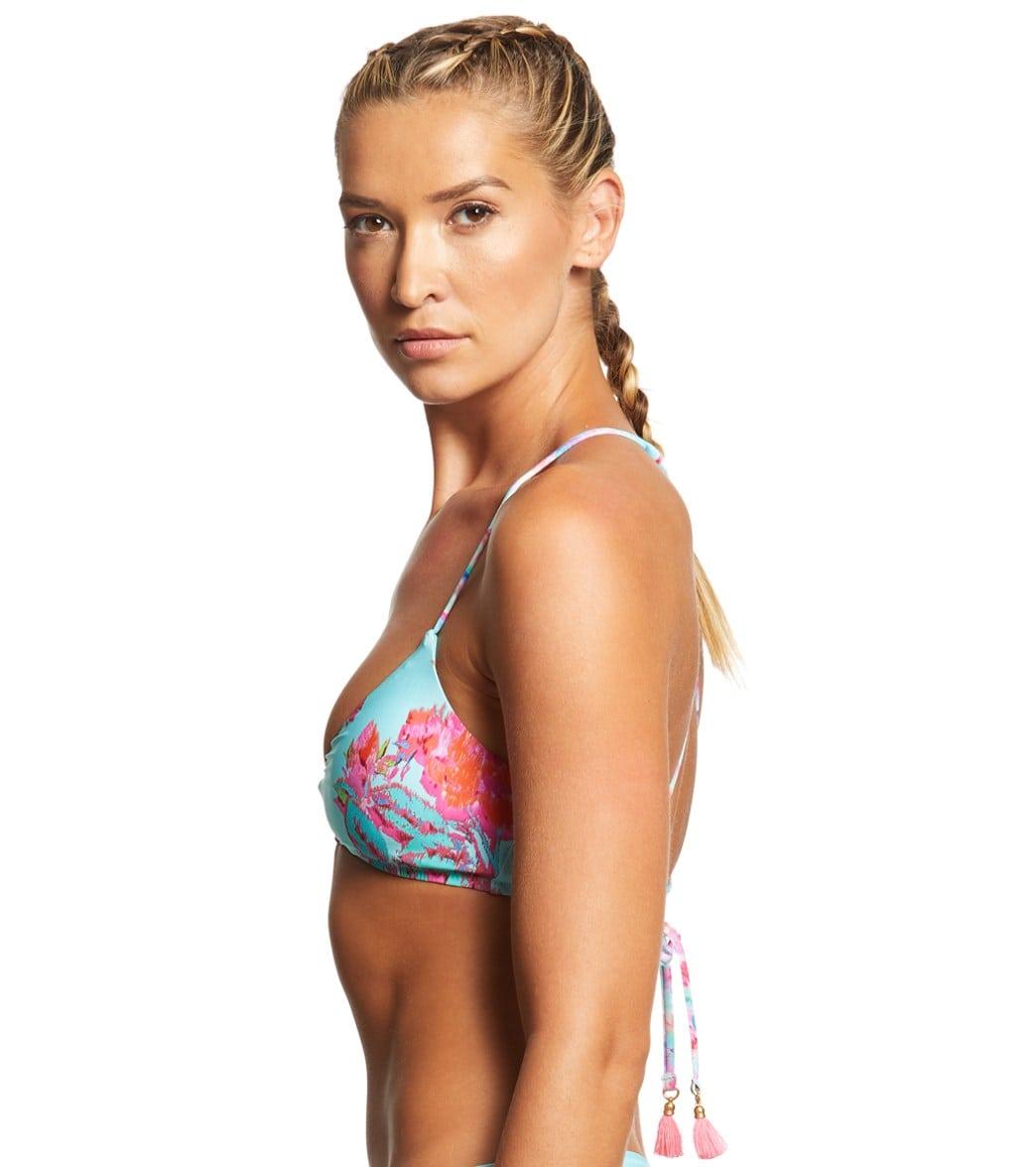 46e1861b26 Nanette Lepore Wonderland Floral Enchantress Bikini Top at ...