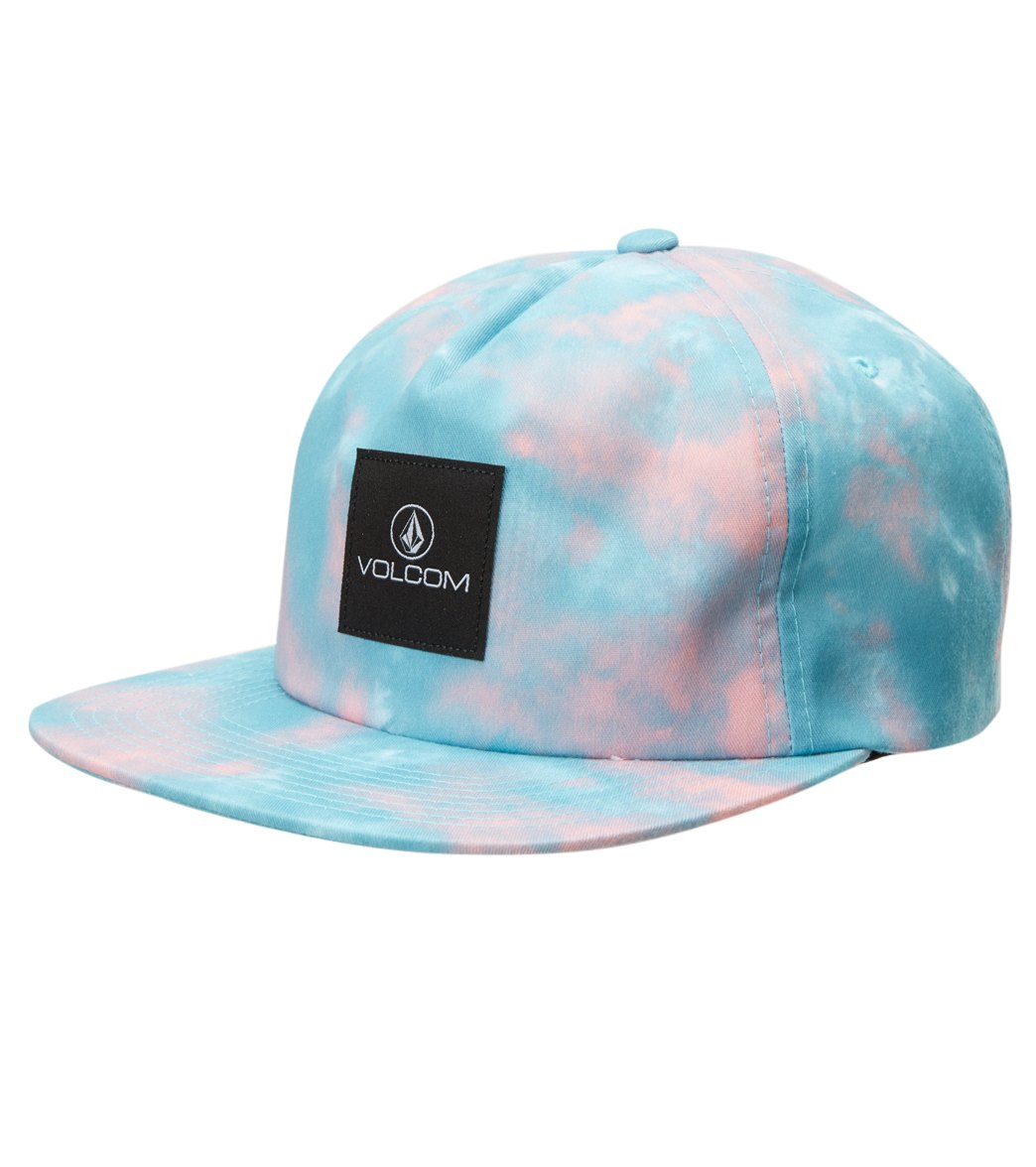 9a5385a58002a Volcom Women s Tie Dye Snapback Hat at SwimOutlet.com