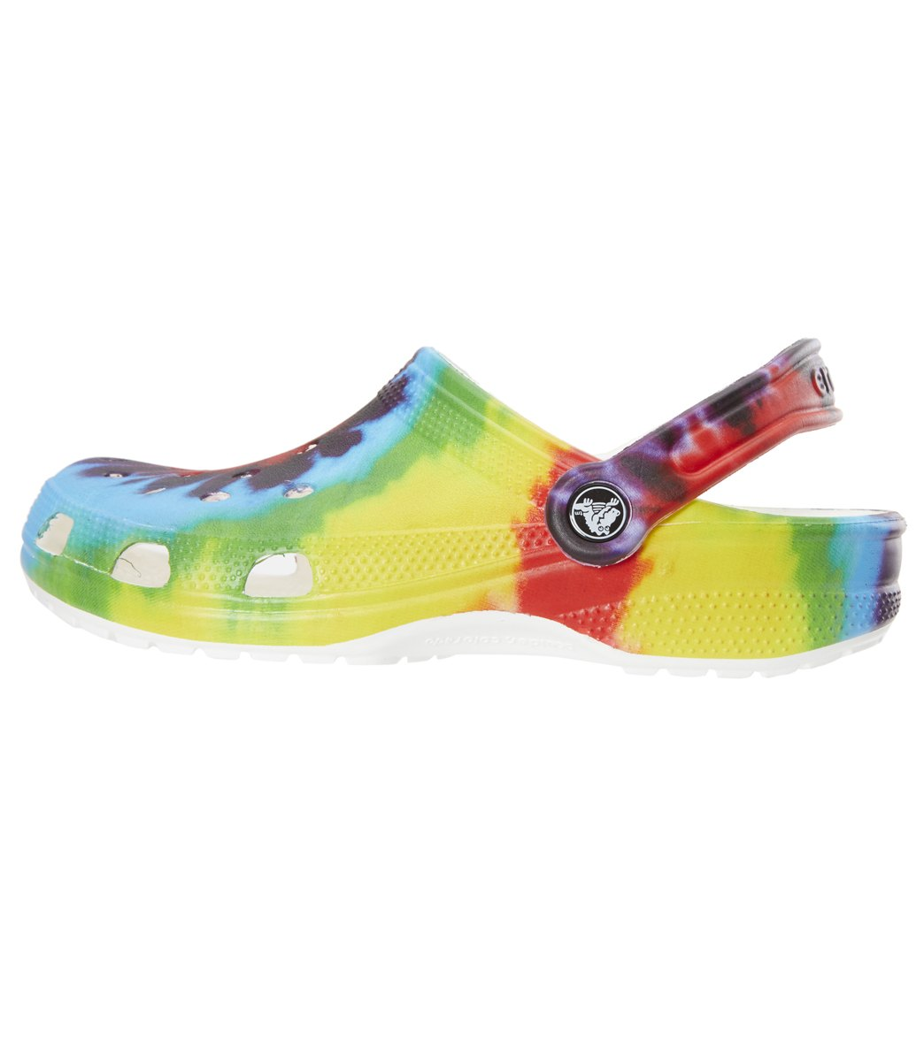 a4e19a2a1dbe Crocs Classic Tie Dye Graphic Clog at SwimOutlet.com