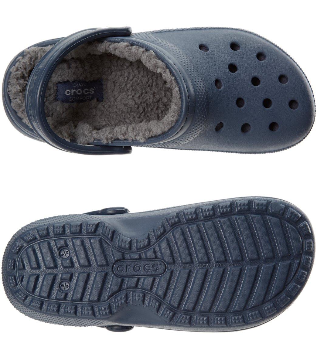 18bf7f1af Crocs Classic Fuzz Lined Clog at SwimOutlet.com
