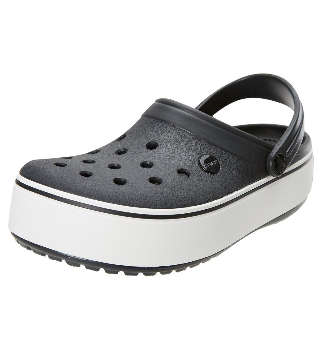 7f52ed8e535 Crocs Crocband Platform Clog at SwimOutlet.com - Free Shipping
