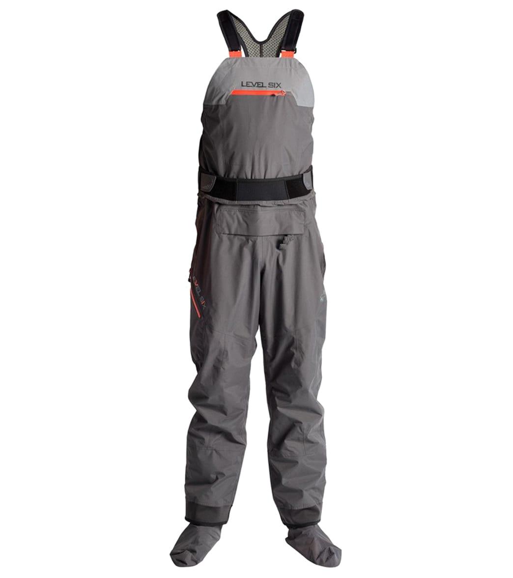 b69b462017 Level Six Men's Breakwater Bib 2.5 Ply Semi-Dry Pant with Sock at  SwimOutlet.com - Free Shipping