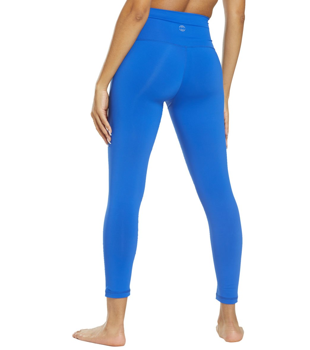 e19c60d521 DYI Take Control High Waisted 7/8 Yoga Leggings at YogaOutlet.com ...