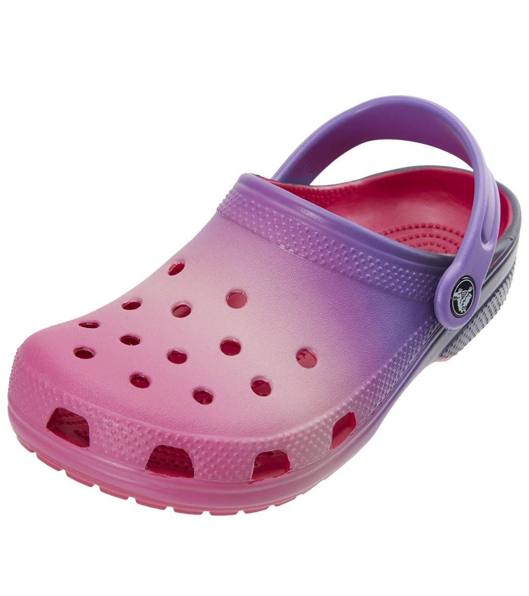 acddc99368428d Crocs Kids  Classic Ombre Clog (Toddler