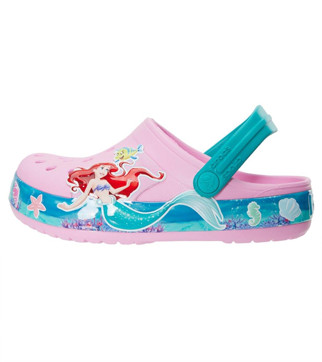 168a3c38c428 Crocs Kids  Crocband™ Princess Ariel™ Clogs (Toddler