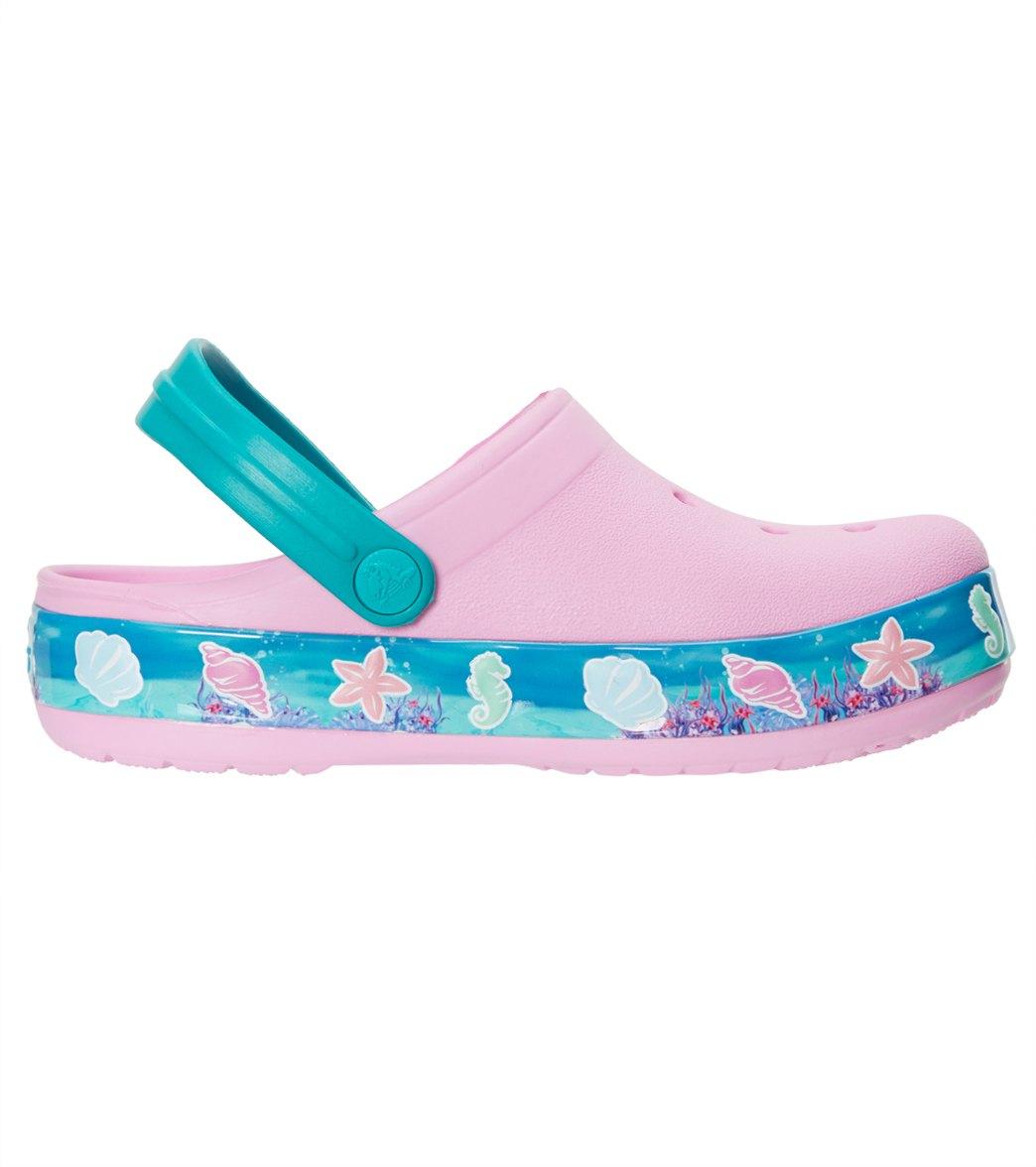 8cf07b4b3865d3 Crocs Kids  Crocband™ Princess Ariel™ Clogs (Toddler