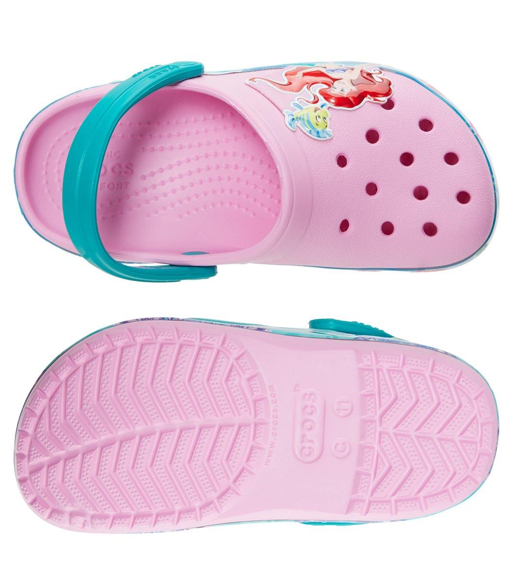 4e663a75c78 Crocs Kids  Crocband™ Princess Ariel™ Clogs (Toddler