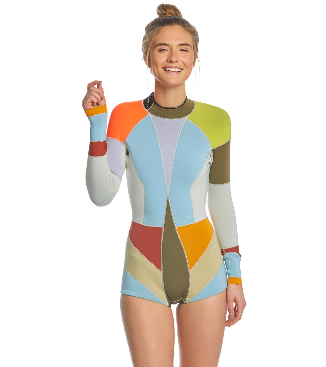 4f7ba66240 ... Cynthia Rowley Kalleigh Wetsuit. Play Video. MODEL MEASUREMENTS