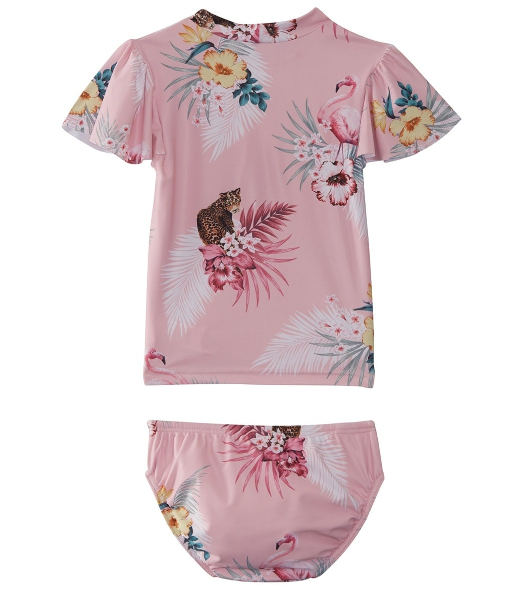 df0a5ca2c1 Seafolly Girls' Into the Wild Rashie Set (Baby, Toddler) at ...
