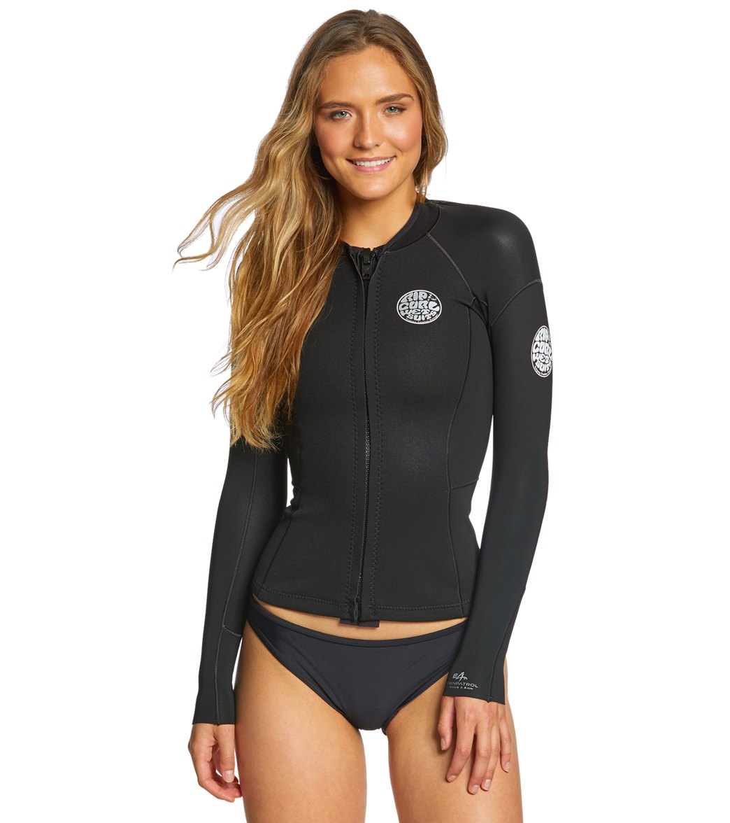 Rip Curl Women s Dawn Patrol Long Sleeve Surf Jacket at SwimOutlet.com -  Free Shipping 20fa33e39