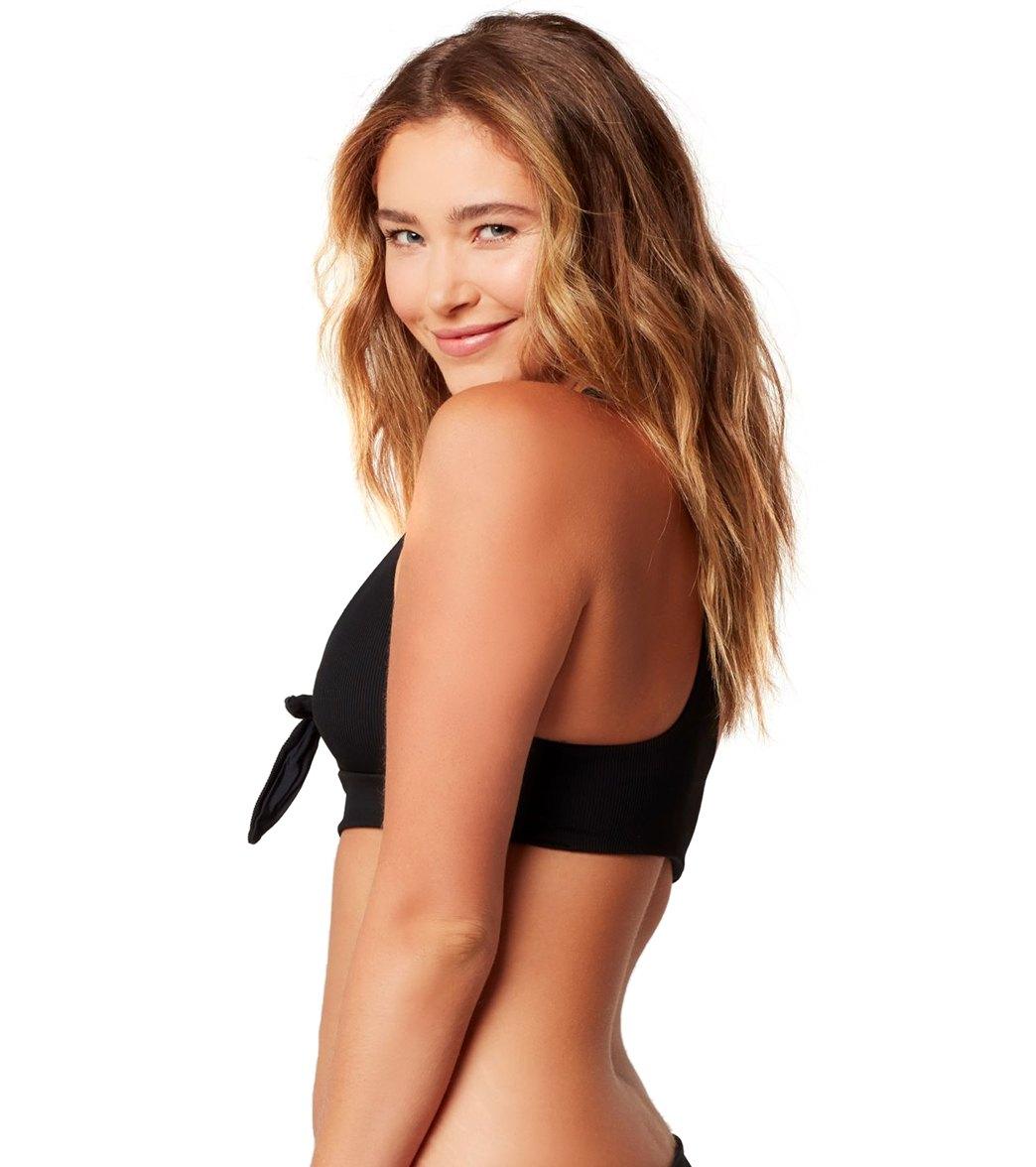 21ca4f5e038 L-Space Ridin' High Ribbed Tara Bikini Top at SwimOutlet.com - Free ...