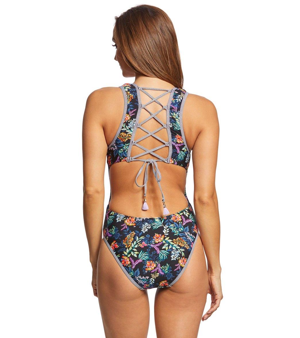 eba3808659 Lucky Brand Sunset Boulevard One Piece Swimsuit at SwimOutlet.com ...