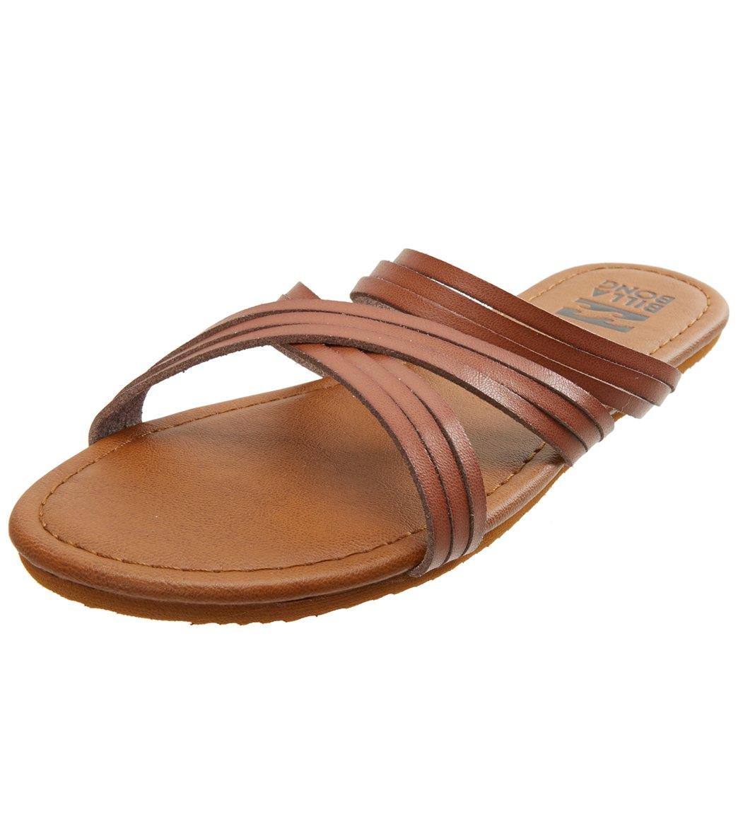 c6ac682bd Billabong Women s Sandy Toes Slide Sandal at SwimOutlet.com