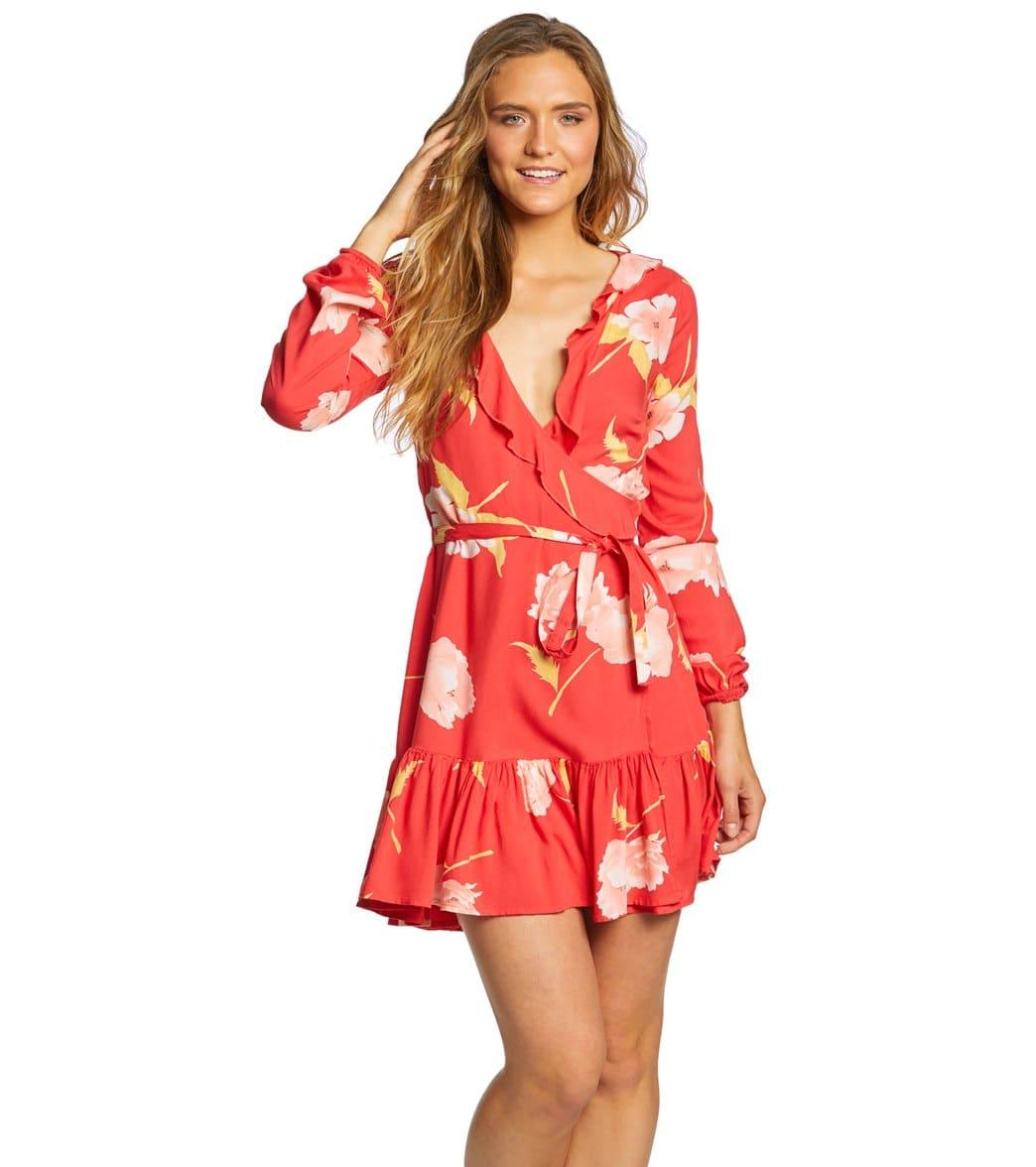 60457cda85 Billabong Women's Ruff Girls Club Long Sleeve Dress at SwimOutlet.com -  Free Shipping