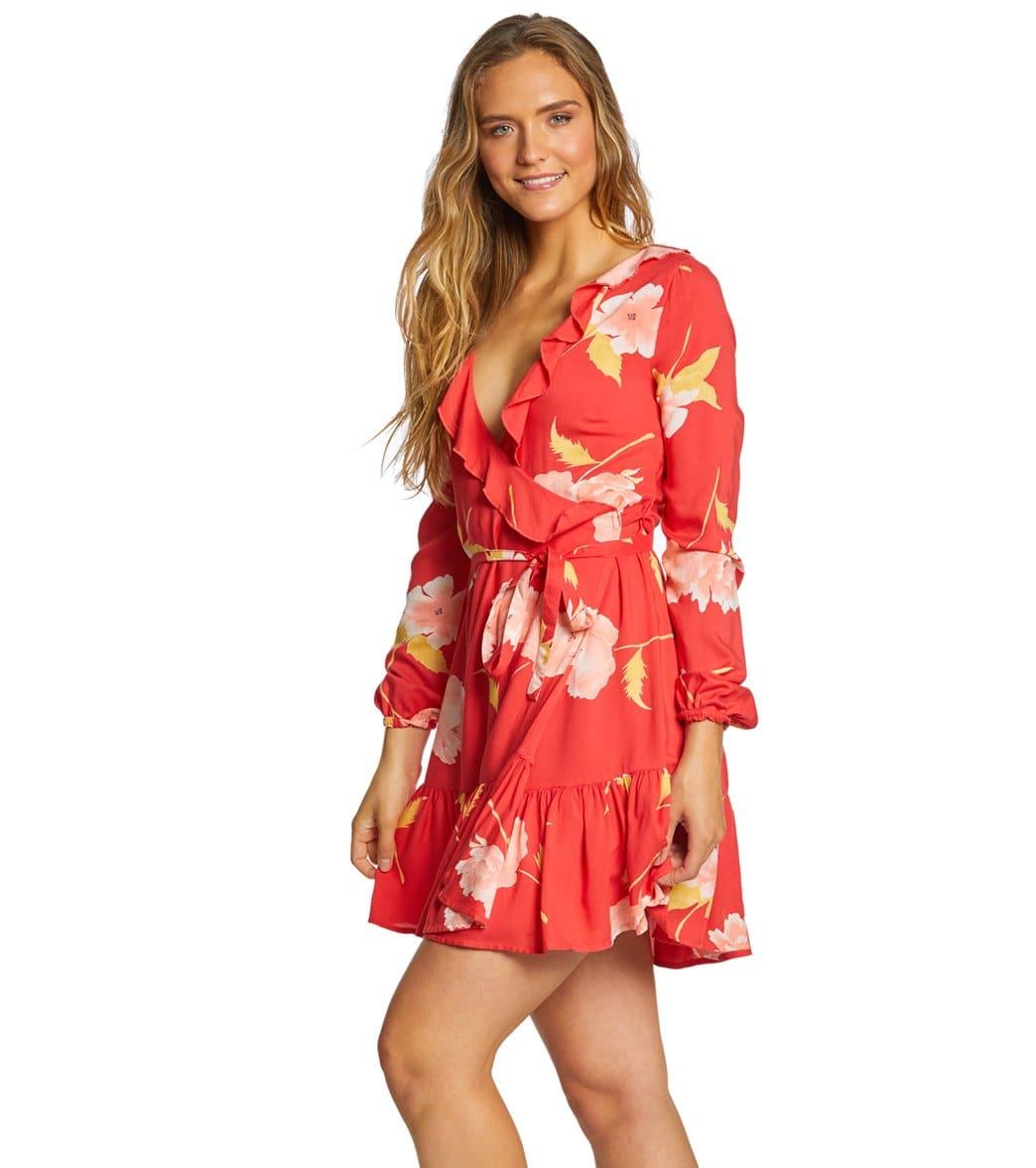 691c5770b4 Billabong Women's Ruff Girls Club Long Sleeve Dress at SwimOutlet ...