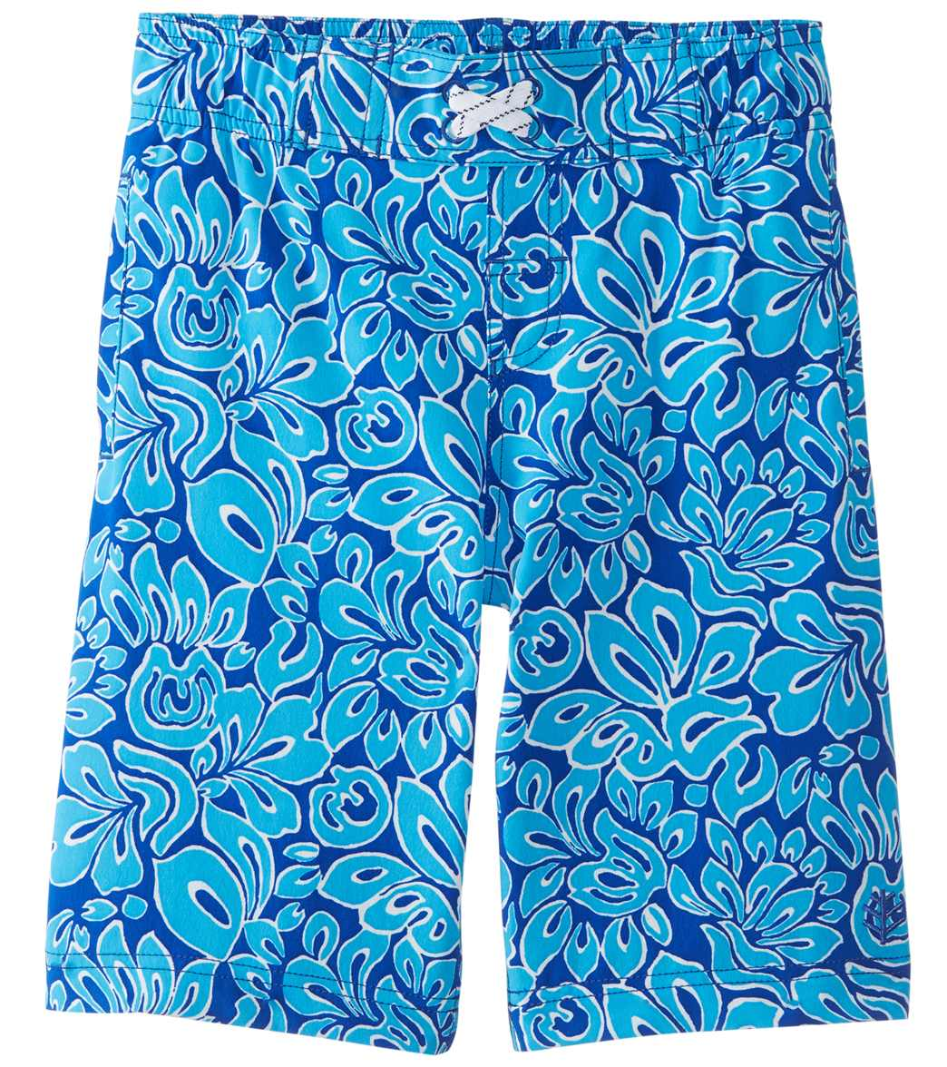 df26cb4357 Coolibar Boys' UPF 50 Swim Trunks at SwimOutlet.com
