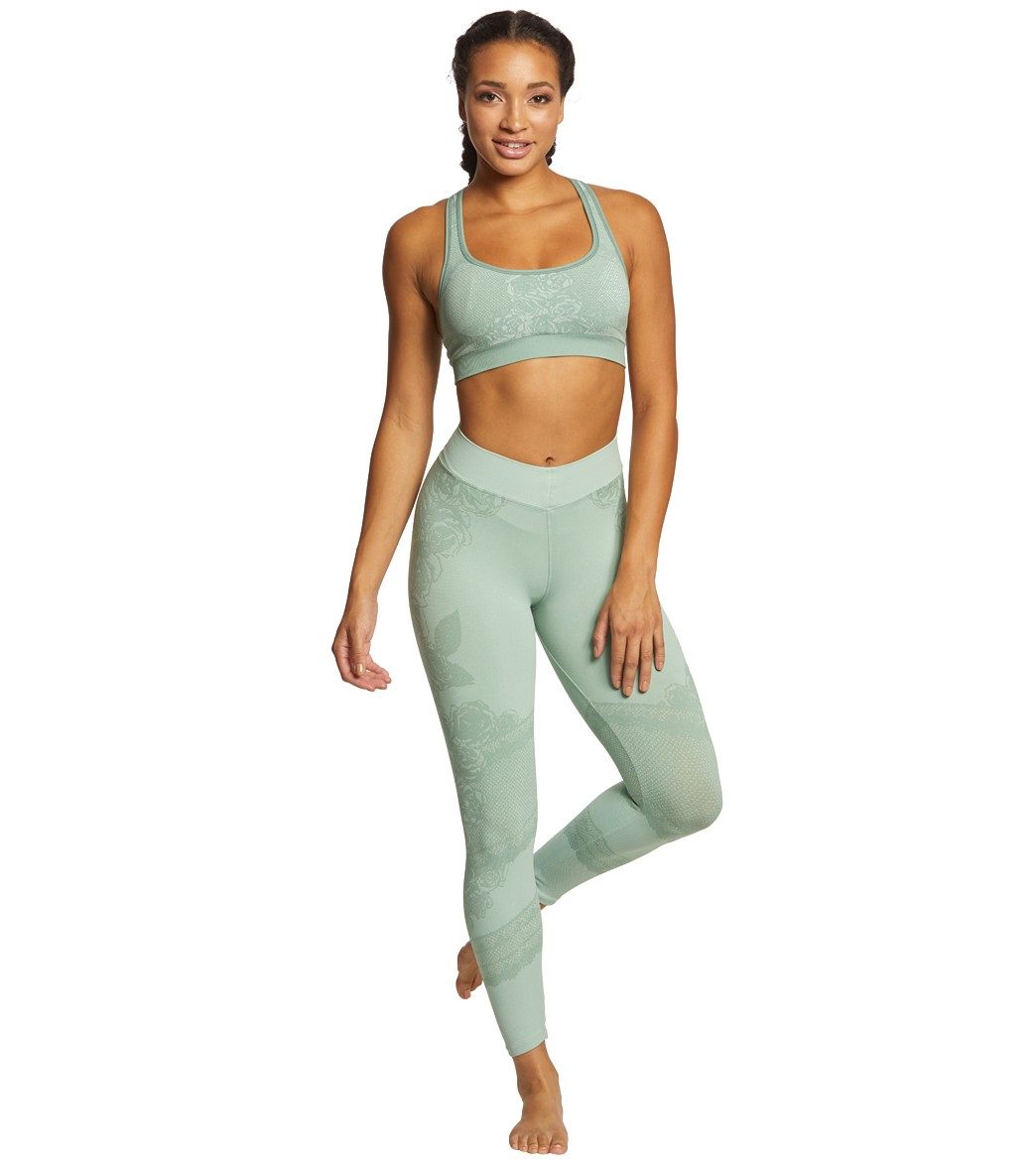 d5a3f91f27ce01 NUX Eden Seamless 7/8 Yoga Leggings at YogaOutlet.com - Free Shipping