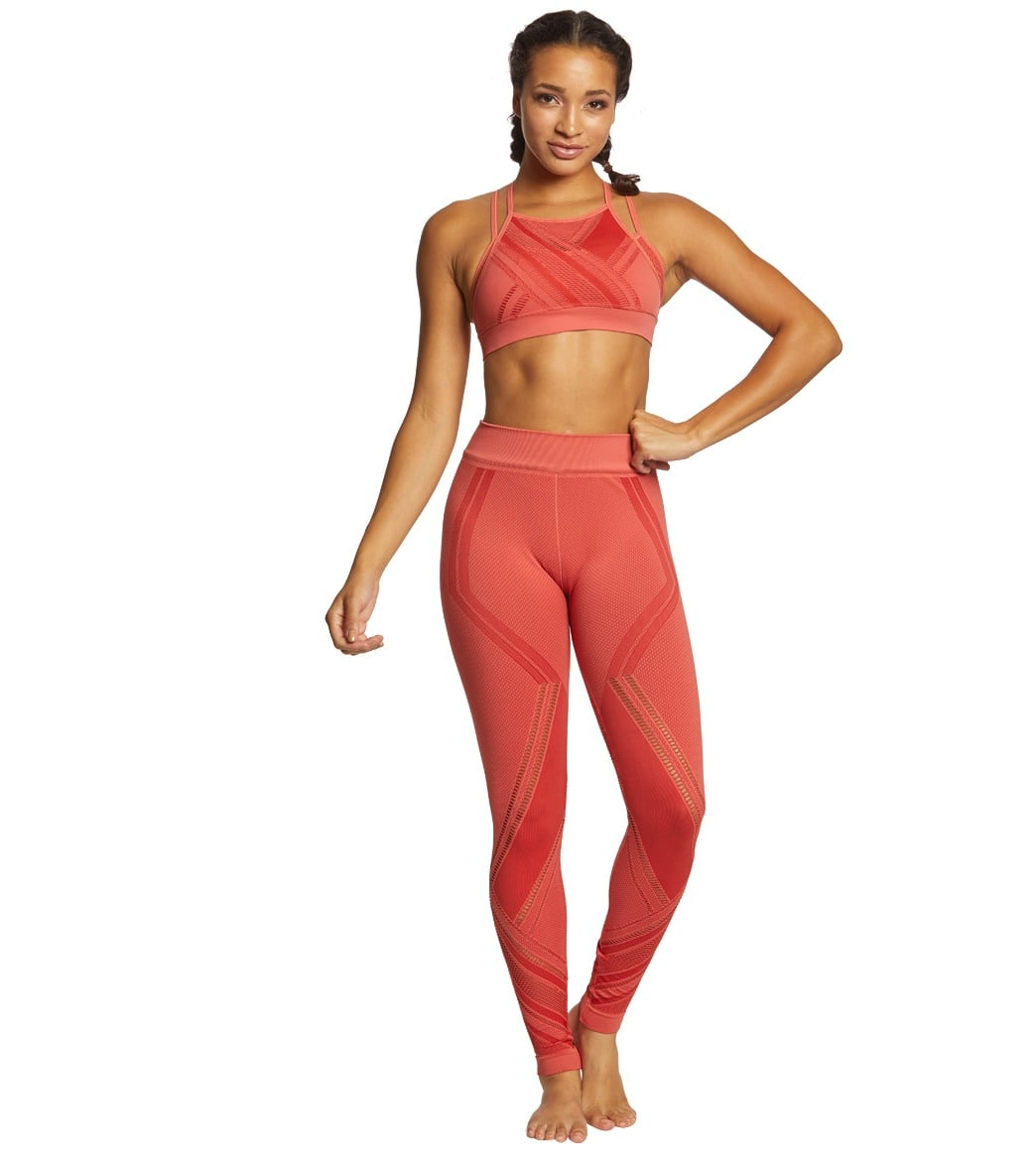 e752958892778 NUX Quintissential Seamless Yoga Sports Bra at YogaOutlet.com - Free ...