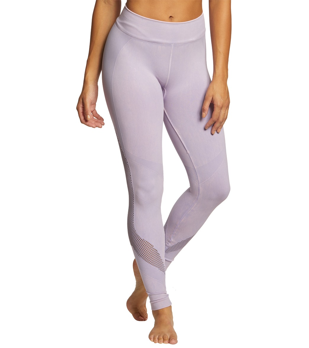 697d25637d NUX Network Mneral Wash Seamless Yoga Leggings at YogaOutlet.com ...