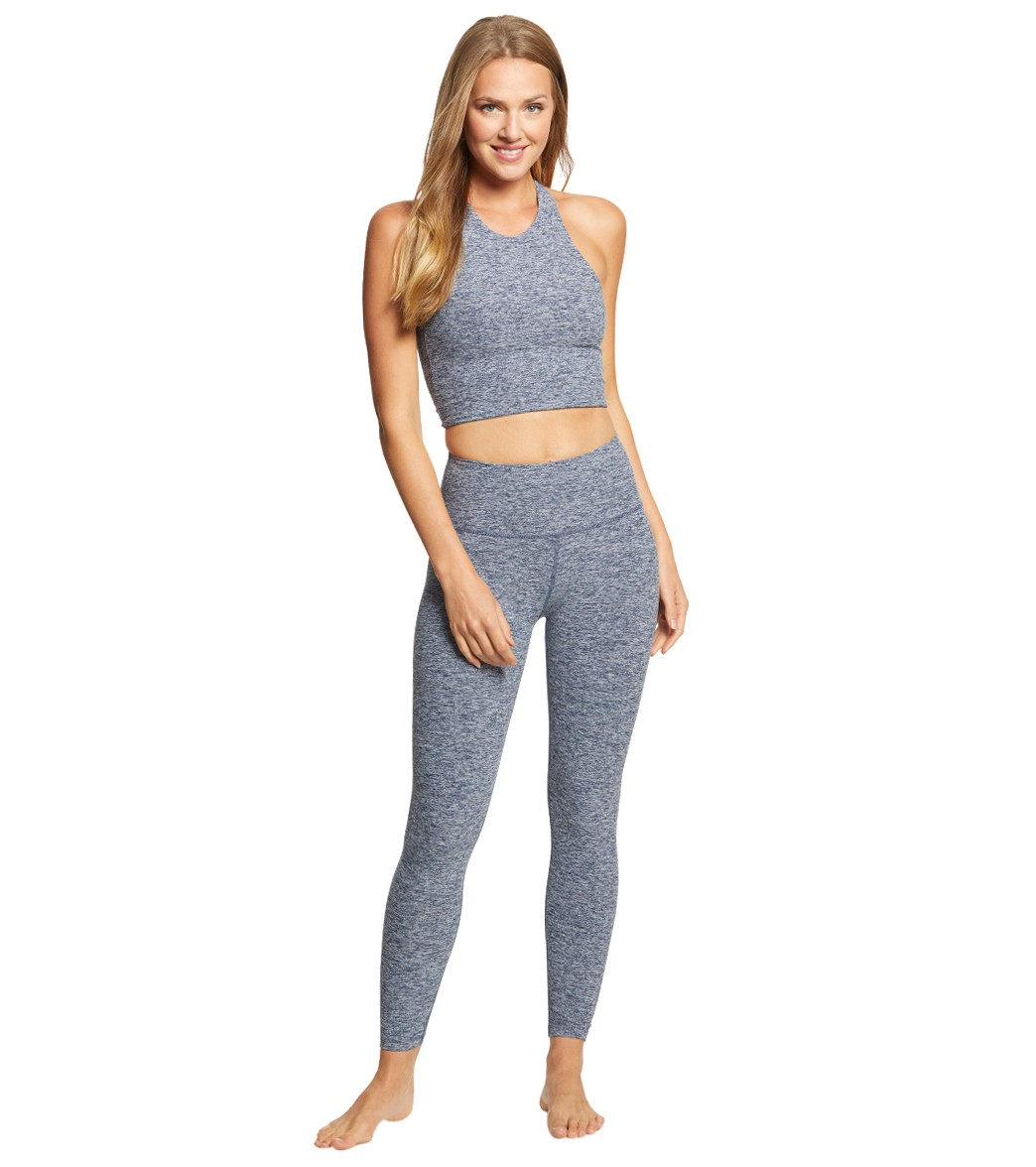 b24fda68aea28 Beyond Yoga Across The Strap High Waisted 7/8 Yoga Leggings at ...