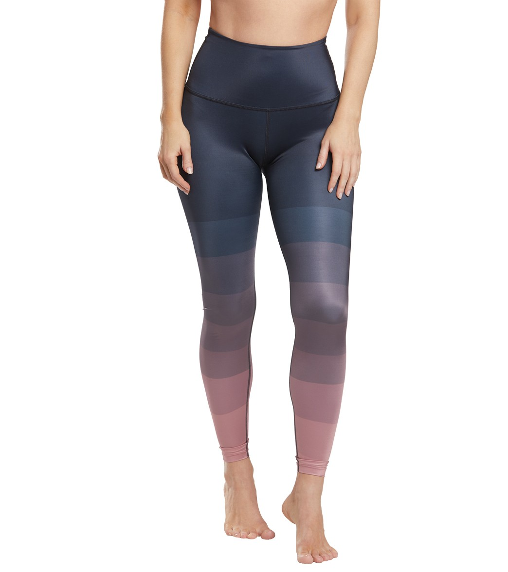 11d3cf20f1601 Beyond Yoga Engineered Lux High Waisted 7/8 Yoga Leggings at ...