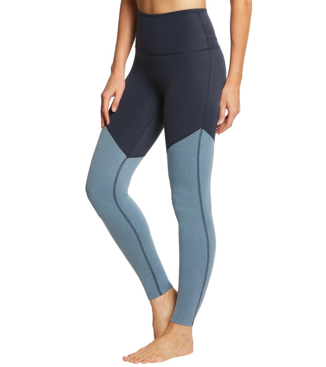 b39989e68d2662 Beyond Yoga Plush Angled High Waisted 7/8 Yoga Leggings at ...