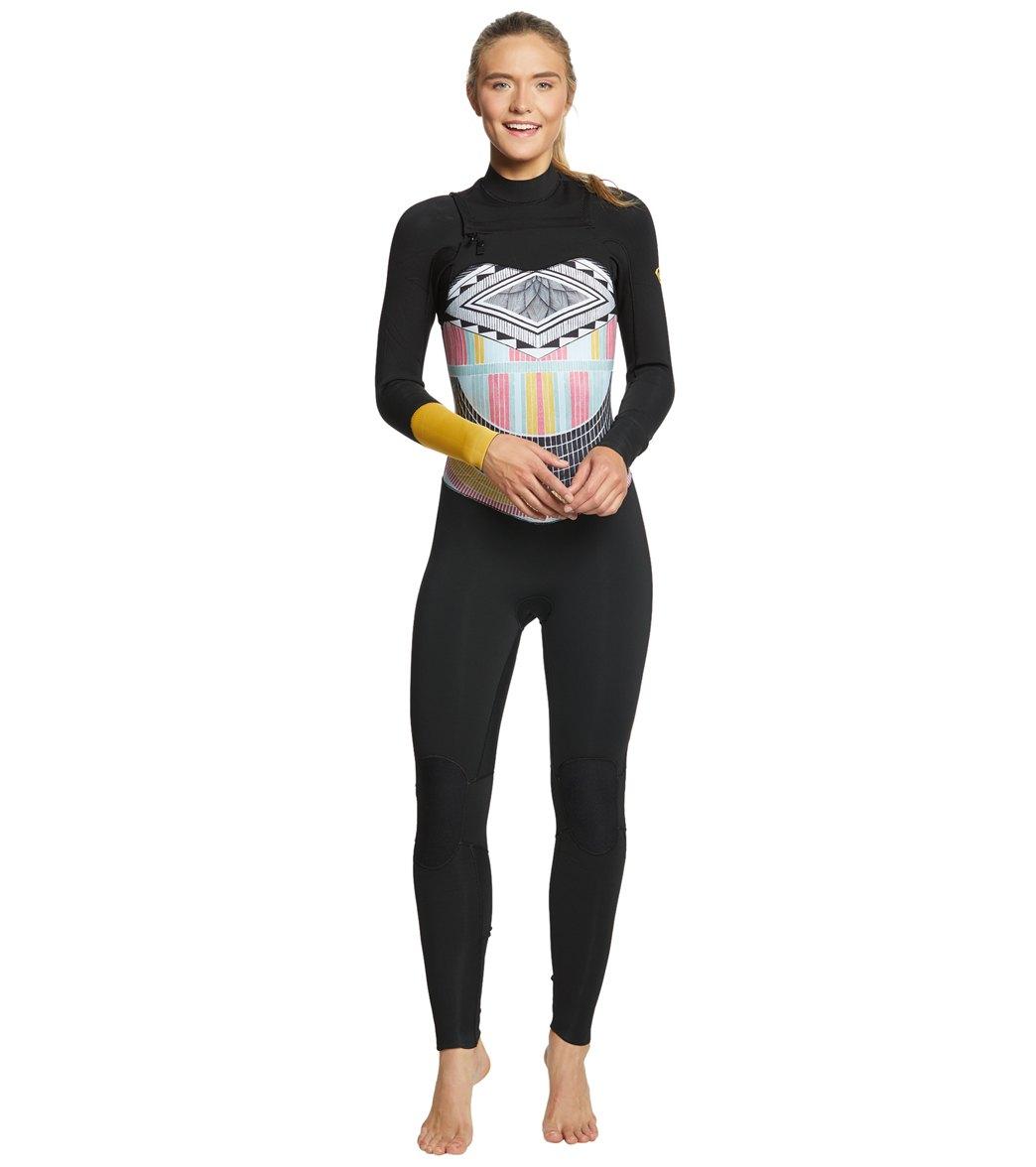 3e9759cee3 Roxy Women s 3 2MM Pop Surf Chest Zip Wetsuit at SwimOutlet.com ...