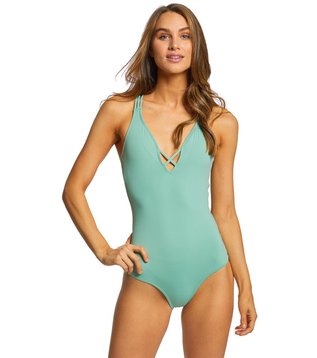 3ec625cbc1c O'Neill Women's Salt Water Solids One Piece Swimsuit