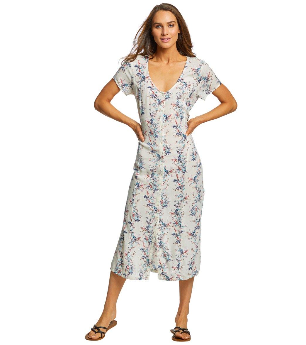 702e1768dd8 O'Neill Women's Amour Short Sleeve Long Dress at SwimOutlet.com ...