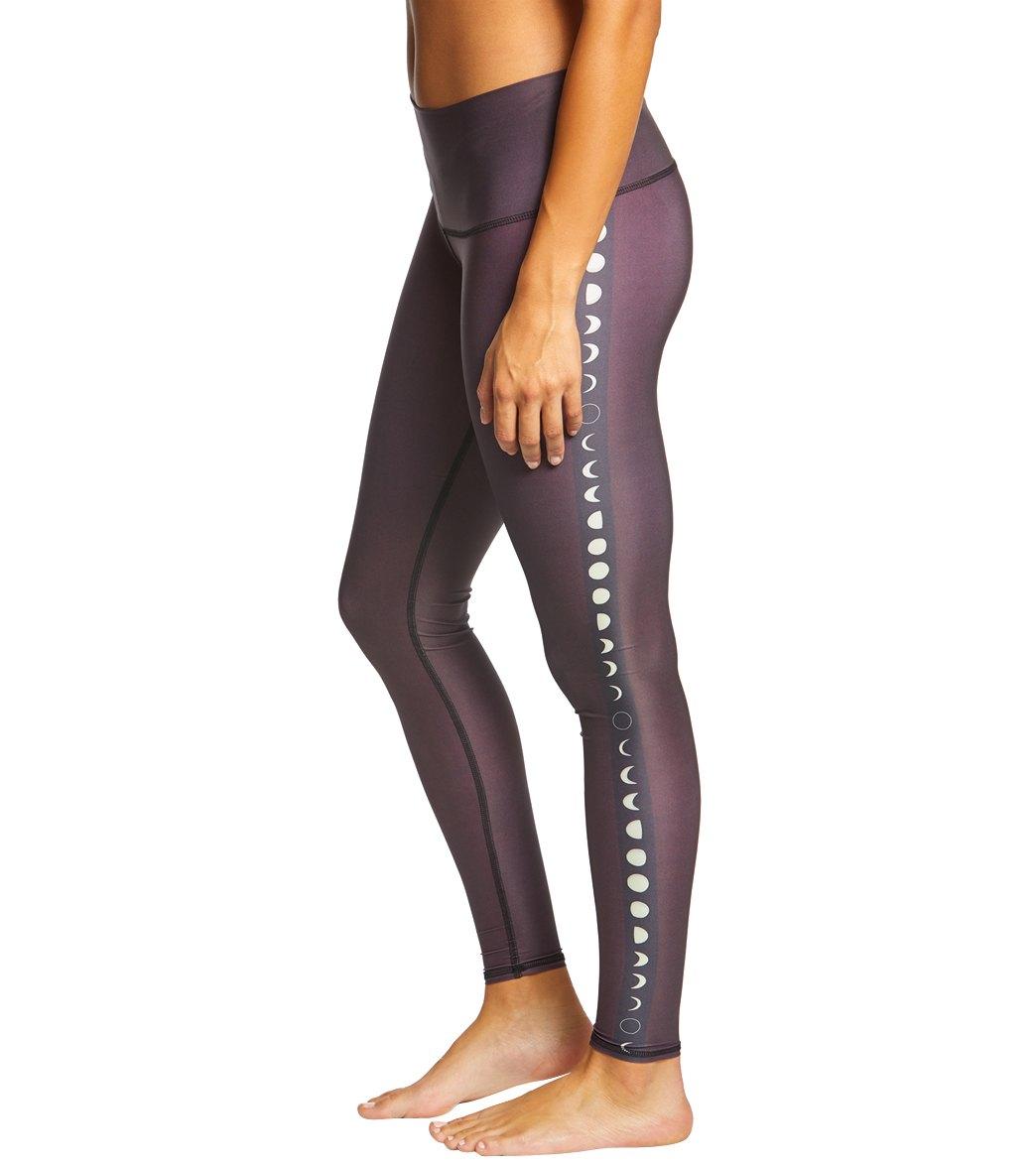 9e254e06b698f Teeki Black Moon Hot Pants at YogaOutlet.com - Free Shipping