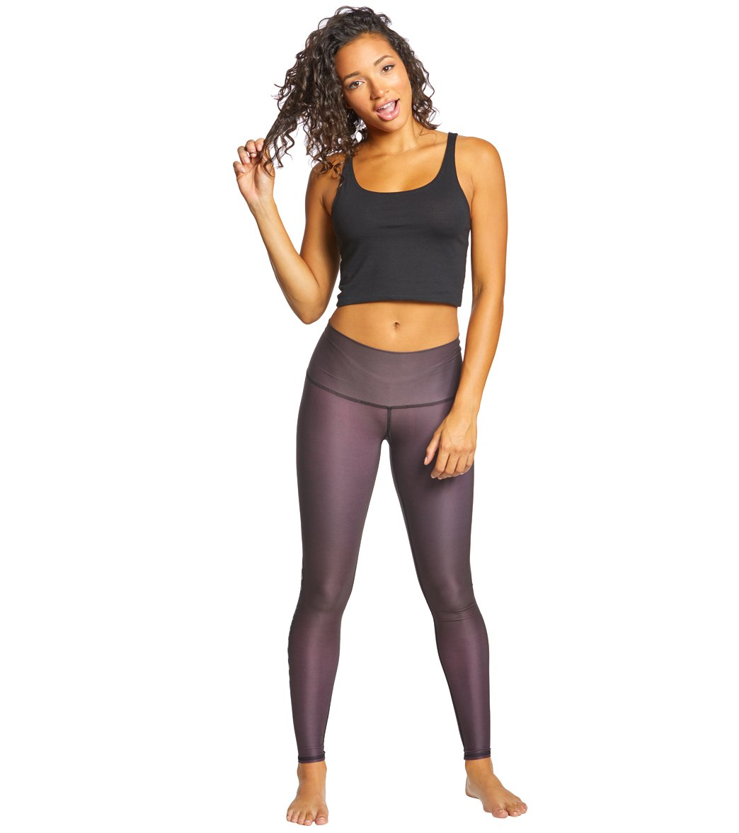 f590154b3dbbc Teeki Black Moon Hot Pants at YogaOutlet.com - Free Shipping
