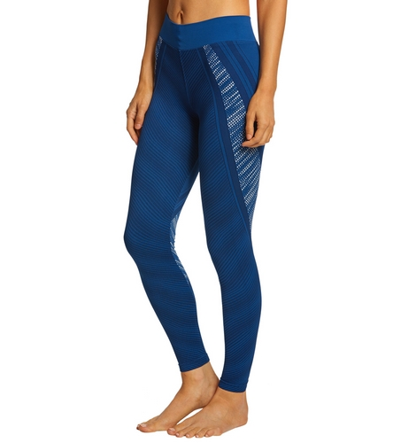 NUX In A Row Seamless Yoga Leggings At YogaOutlet.com