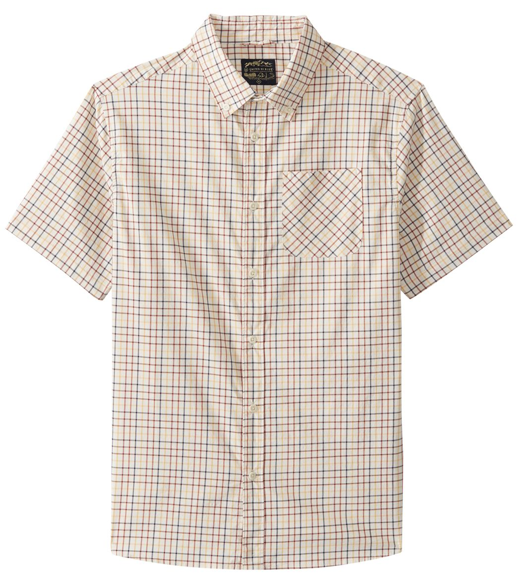 726618f62f5 United By Blue Men's Clydebank Plaid Button Down Shirt