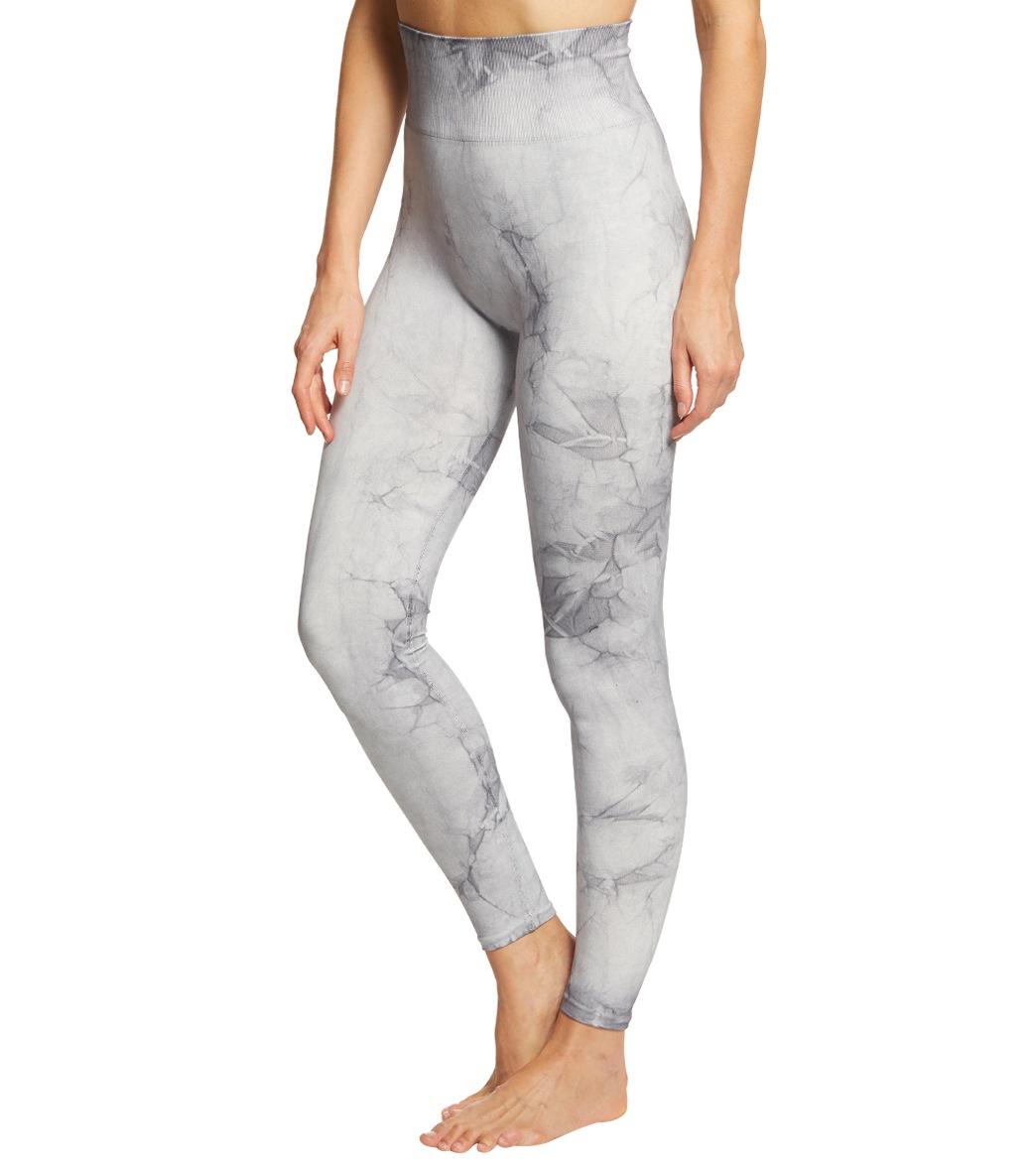 c4a5940fe4 Spiritual Gangster Seamless Tie Dye Yoga Leggings at YogaOutlet.com ...