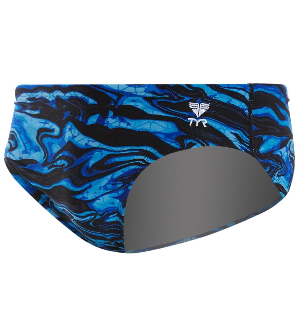 0daec0761 TYR Men's Miramar Allover Racer Swimsuit at SwimOutlet.com