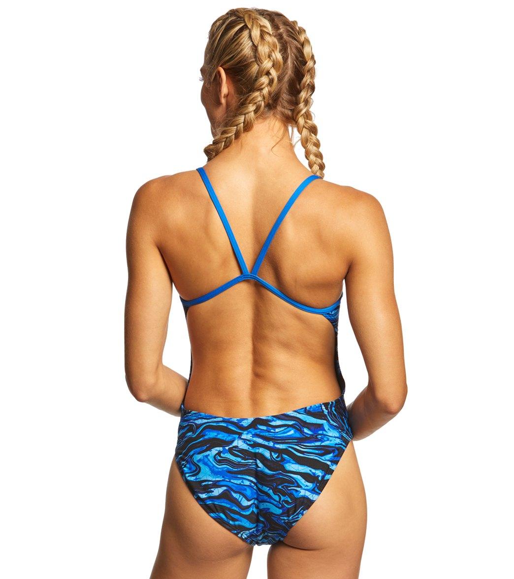 dfa0174b47 TYR Women's Miramar Cutoutfit One Piece Swimsuit at SwimOutlet.com ...