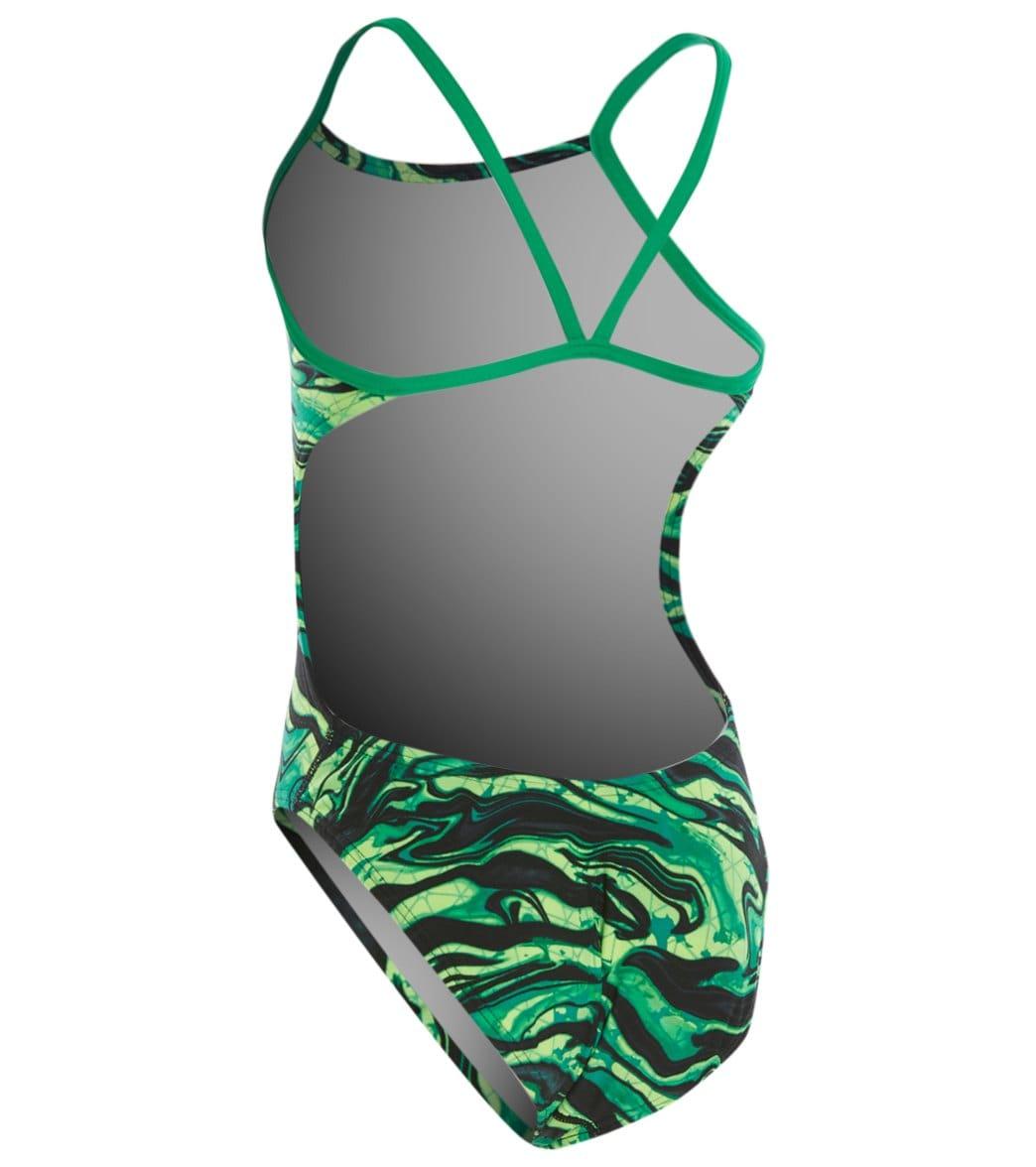 6b3ec878b5 TYR Girls' Miramar Cutoutfit One Piece Swimsuit at SwimOutlet.com ...
