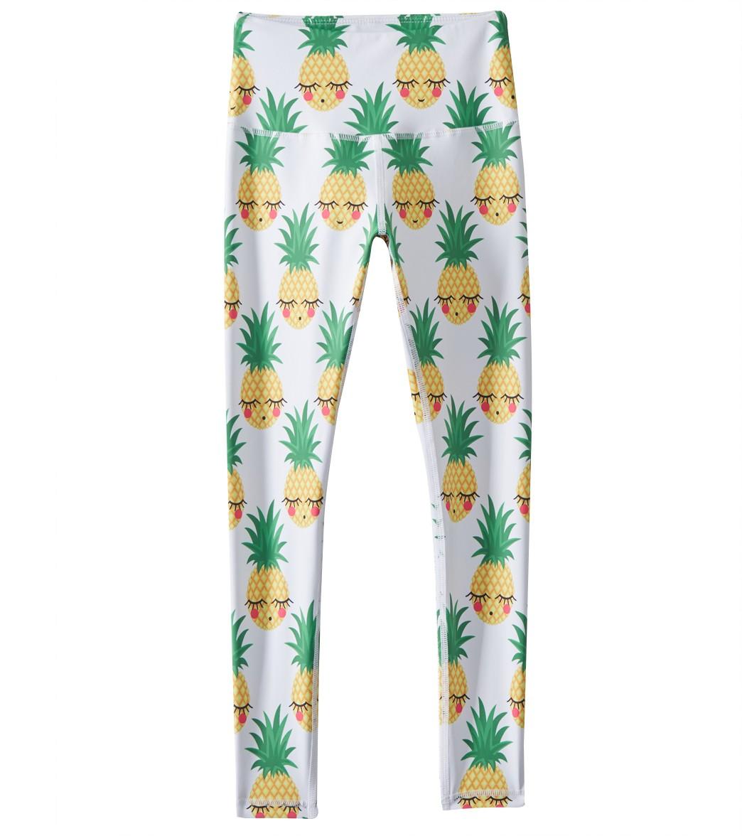 bdbe82538e0fb Flexi Lexi Girls  Pineapple Flexi Leggings at SwimOutlet.com - Free Shipping