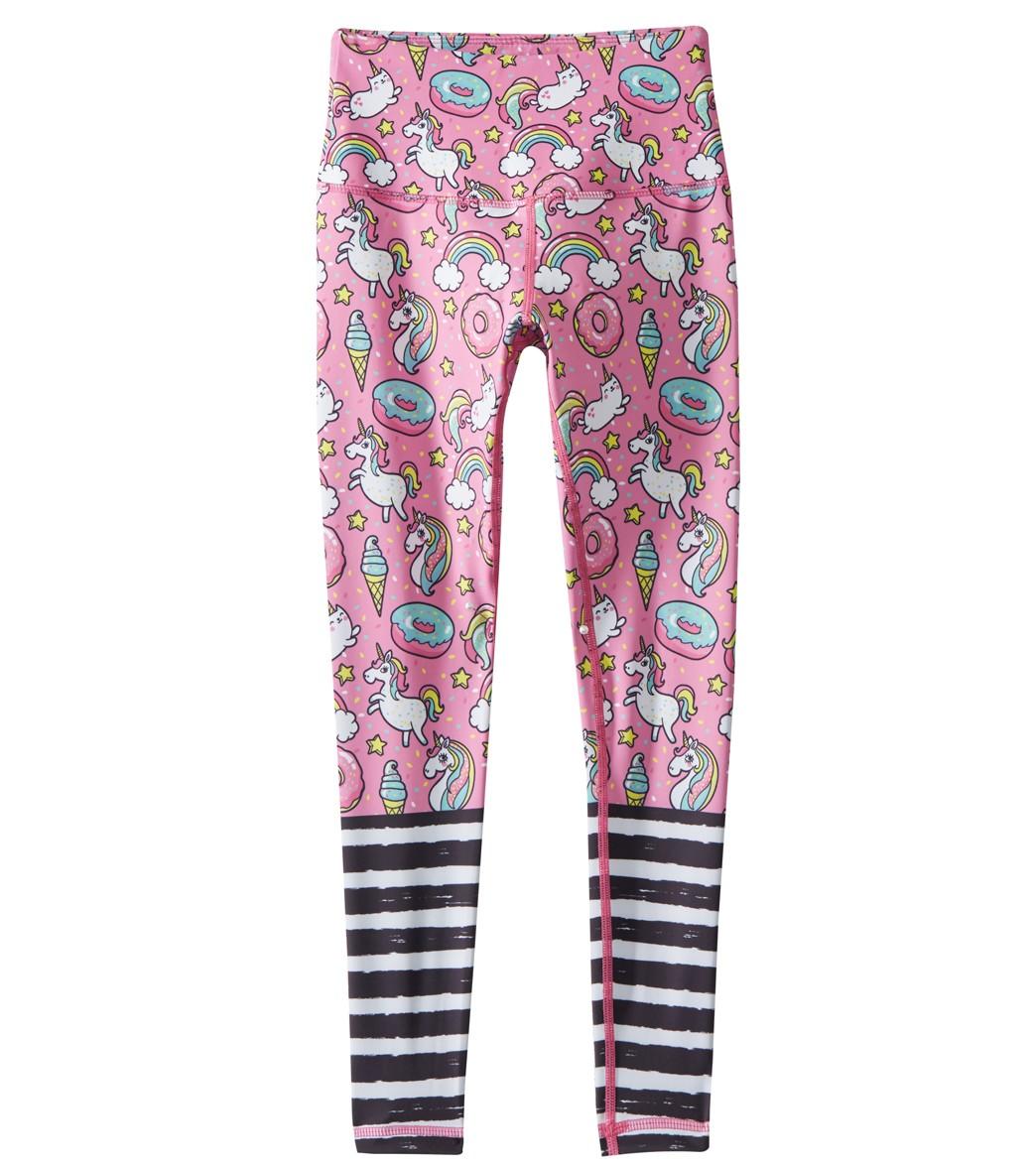 b180c9f7025f0 Flexi Lexi Girls  Pink Unicorn and Rainbow Flexi Leggings at SwimOutlet.com  - Free Shipping